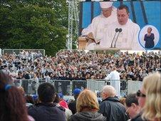 Pope Benedict XVI in Cofton Park