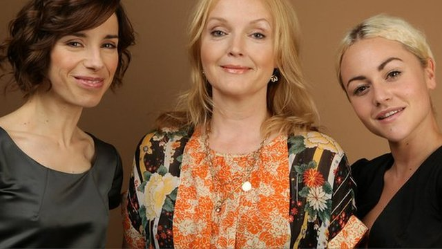 Sally Hawkins, Miranda Richardson and Jamie Winstone