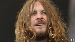 Zutons singer Dave McCabe