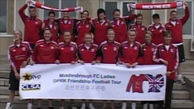 The Middlesbrough Ladies football team