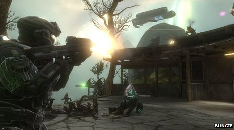 Scene from Halo: Reach