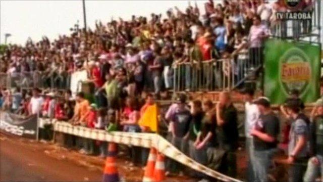 Brazil grandstand