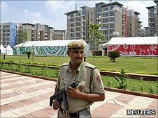Security at Delhi 2010