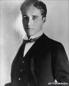 Charlie Chaplain in 1910