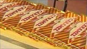 Tunnock's caramels