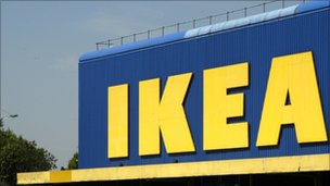 Ikea store, UK