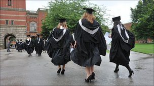 Graduates at the University of Birmingham