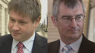 Basil McCrea and Tom Elliott