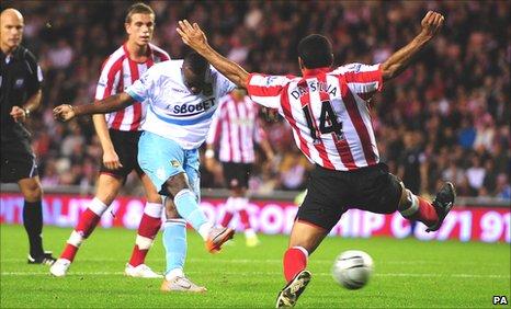 Victor Obinna scored for West Ham