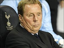 Spurs manager Harry Redknapp