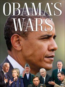 Obama&#039;s Wars by Bob Woodward book cover