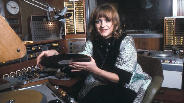 Annie Nightingale in 1976