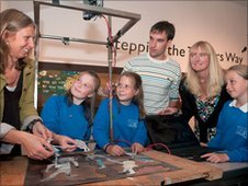 Pupils from St Maddern's School discuss how they made their school's animation.