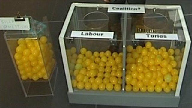 Voting balls