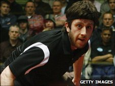 Shenfield squash player Daryl Selby