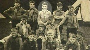 英國最年長童軍退休