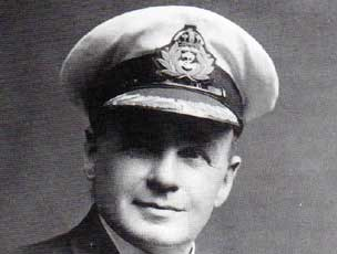 Titantic Second Officer Charles Lightoller, who kept the secret from the outside world