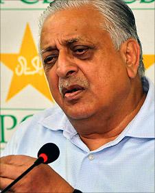 Pakistan cricket chief Ijaz Butt