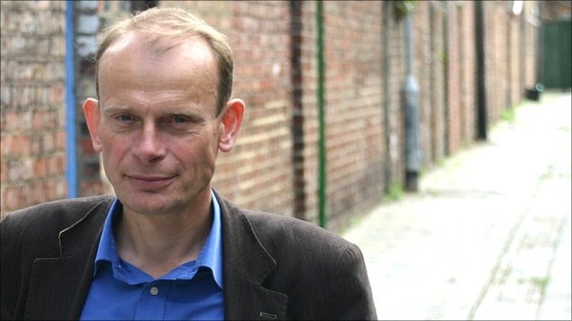 Andrew Marr York for the BBC TV series The Making of Modern Britain