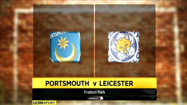 Highlights - Portsmouth 1-2 Leicester