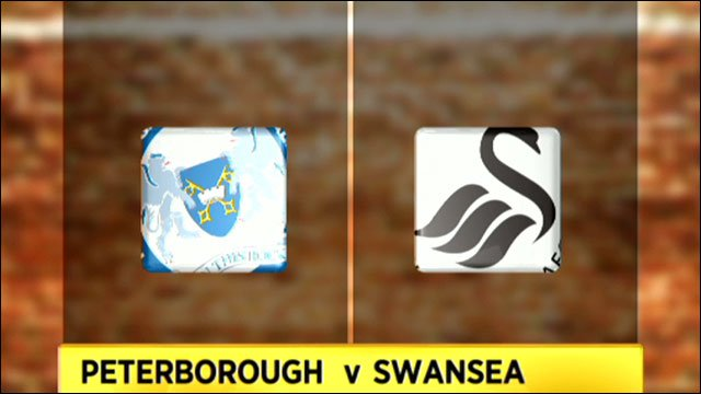 Peterborough v Swansea