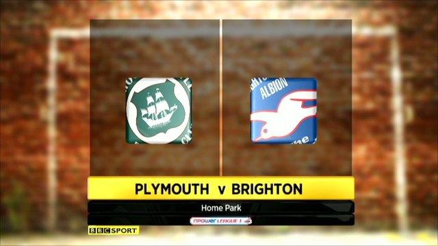 Highlights - Plymouth 0-2 Brighton