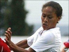 England's Rachel Yankey grabbed Arsenal's opening goal