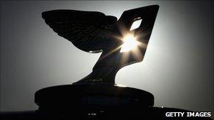 Bentley 'Flying B' bonnet ornament