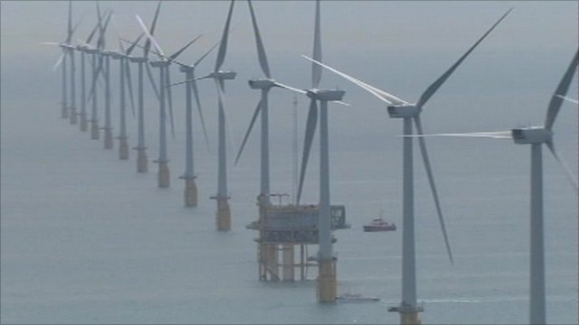 Wind farm off Kent coast