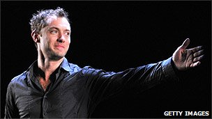 Jude Law on Broadway
