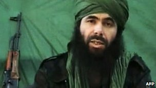 Abdelmalek Droukdel, alias Abdel Moussab Abdelwadoud, head of the militant group which took the hostages in Niger 