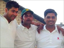 Newport Asians cricketers