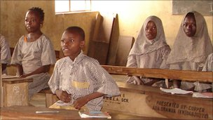 Classroom in Nigeria