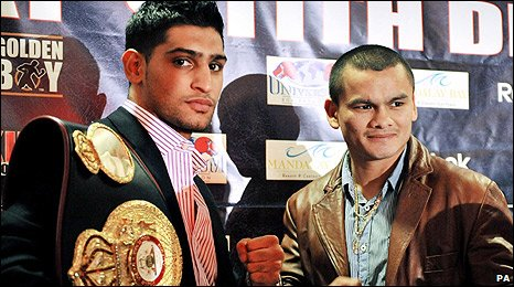 Amir Khan and Marcos Maidana