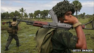 Sri Lankan soldier