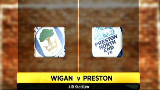 Wigan 2-1 Preston