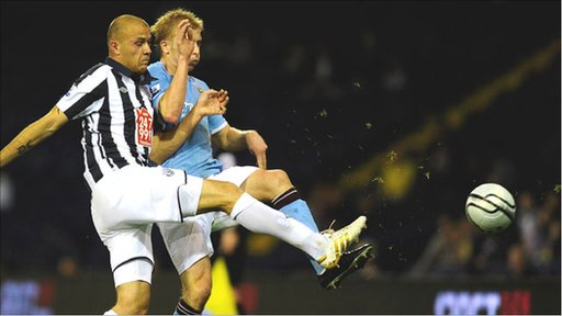 West Brom 2-1 Manchester City