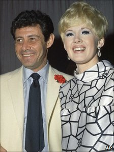 Eddie Fisher with Connie Stevens in 1967
