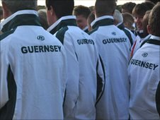 Guernsey's Commonwealth Games team members