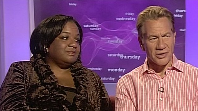 Diane Abbott and Michael Portillo