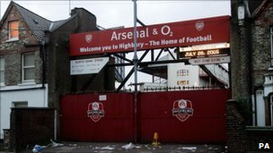 Arsenal old ground