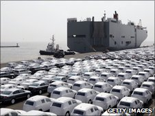 Cars in Emden, Germany