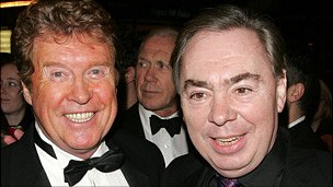 Michael Crawford and Andrew Lloyd Webber
