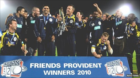 Hampshire win this summer's FPT20 competition