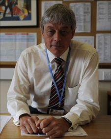 Head teacher David Forrest