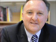Head teacher Mike Foley