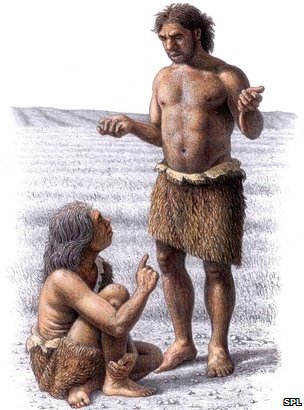 Neanderthals, art work