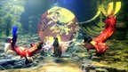 Scuba-diving dancers dressed as the Chinese Moon goddess, Chang'e, perform in Wuhan, central China