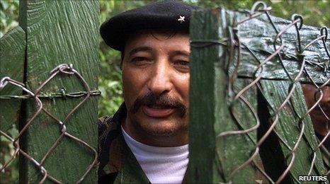 Jorge Briceno aka Mono Jojoy (file image)