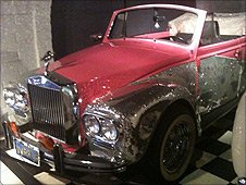 Rolls-Royce at the Liberace museum